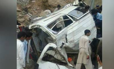 Eleven killed, nine injured as van plunges into ravine in Upper Dir