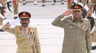 COAS Bajwa meets Sri Lankan army chief