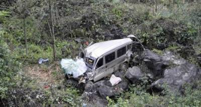 Seven women among 8 dead as jeep plunges into ravine in Haveli