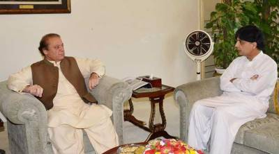 PM Nawaz meets Chaudhry Nisar over Dawn Leaks recommendations