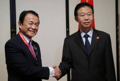 Japan, China to hold financial dialogues following North Korea issue
