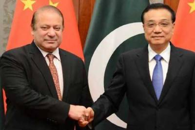Nawaz meets, felicitates Chinese counterpart on One Belt One Road Initiative