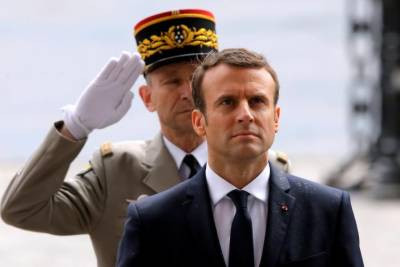 Macron takes power as president of France