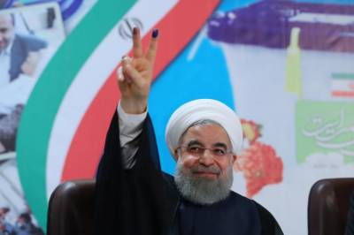 Iranian opposition figure Karoubi to vote for Rouhani