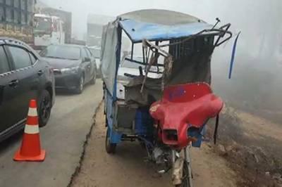 Eleven killed, dozen injured in road mishap
