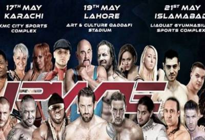 Pakistan's first ever wrestling event to begin today