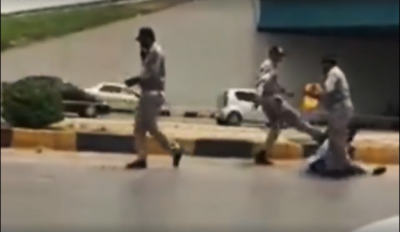 Traffic official suspended for thrashing citizen after video goes viral