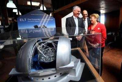 Construction starts on world's largest optical telescope in Chile