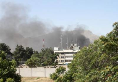 Massive blast rocks foreign embassies in Kabul 80 killed, 300 wounded