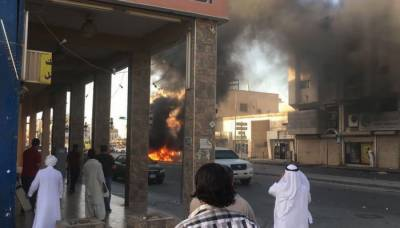 Explosion hits Saudi city of Qatif