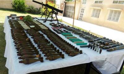 12 terrorists killed, cache of weapons recovered: ISPR