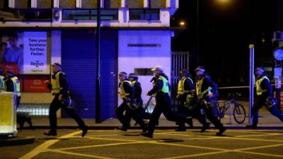 Fired 50 bullets to stop London attackers: police chief