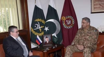 Russian ambassador meets Army chief Qamar Bajwa