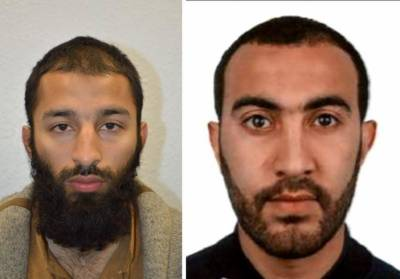 UK police name two London attackers, say a British citizen born in Pakistan, previously known to them