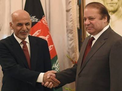 SCO summit 2017: Sharif, Ghani discuss bilateral relation