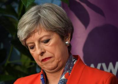 UK election: uncertainty plunges as May tipped to lose majority