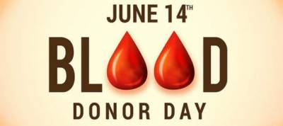World Blood Donor Day being observed today