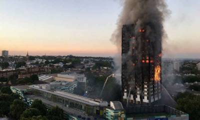 Baby thrown by mother from 10th floor of Grenfell Tower 'caught by man on ground'