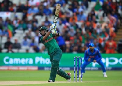 ICC Champions Trophy: Bangladesh set 265 runs target for India to win 2nd semi-final