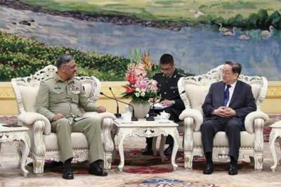 CJCSC General Zubair meets with Chinese advisor at 12th China-Pak Defense and Security Consultation
