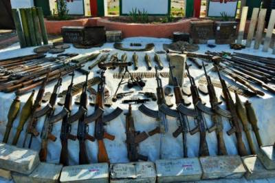 Security forces seize large cache of weapons in North Waziristan: ISPR