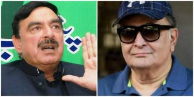 Sheikh Rasheed slams Rishi Kapoor for his tweet against Pakistan
