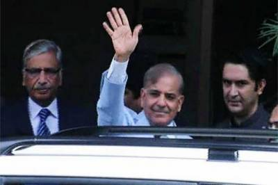 CM Punjab shahbaz sharif reaches judicial academy to appear before JIT