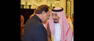 President Mamnoon meets Saudi king in Makkah