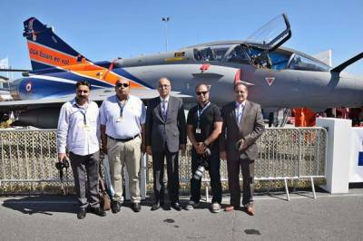 PAF delegation attends 4-day 52nd Paris Air show
