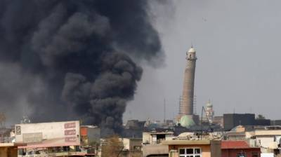 IS blows up Mosul's historic Grand al-Nuri mosque
