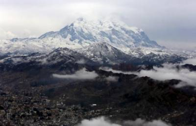 Scientists rescue samples of melting Bolivian glacier