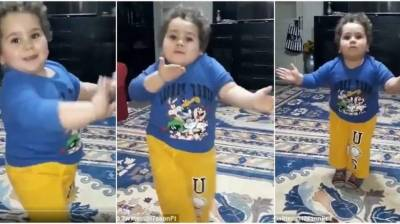 Watch: Adorable kid's Eid celebration dance steals hearts