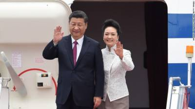Chinese President Xi Jinping arrives in Hong Kong to mark handover anniversary