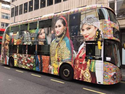 Mindblowing Pakistan Branded Buses famous in Central London (Pics)