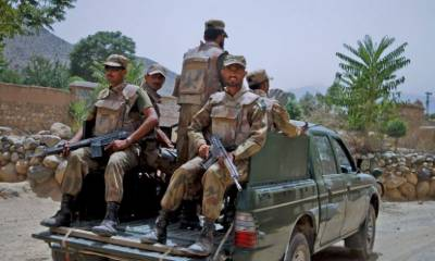 Eight suspected terrorists arrested in Balochistan: ISPR