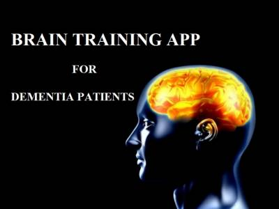 'Brain training app' improves memory in people with dementia