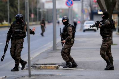 Turkey arrests six IS suspects planning attack on opposition march: governor