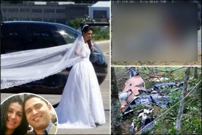 Watch heart wrenching video: Bride killed just before wedding