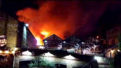 Blaze in London's Camden Market brought under control