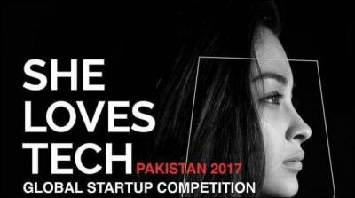 International startup competition 2017 'She Loves Tech' First time in Pakistan