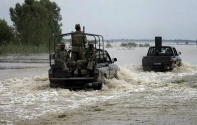 Four soldiers drown as Indian troops target Pak Army vehicle