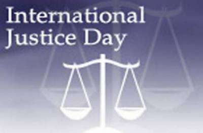 World Day for International Justice being observed today