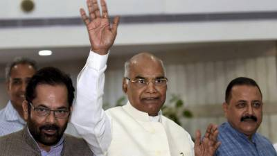 India elects new president from poorest communities
