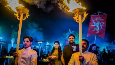 Indian couple has a GoT-themed wedding