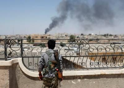 Syrian army, allies advance against Islamic State east of Raqqa