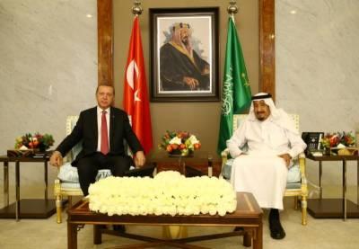Turkish president Erdogan kicks off Gulf crisis diplomacy with Saudi visit
