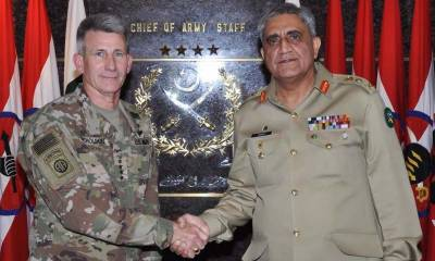 Army chief meets US general, shares concerns over increasing criticism