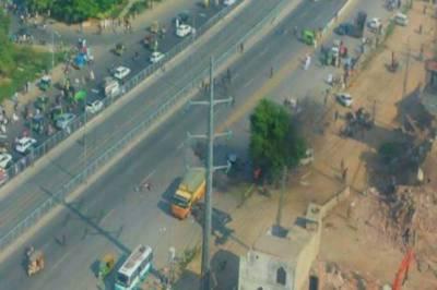 Eight cops among 26 martyred, 53 injured in Lahore Arfa Karim Tower blast