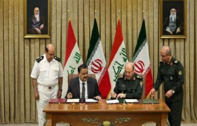 Iran signs military cooperation deal with Iraq