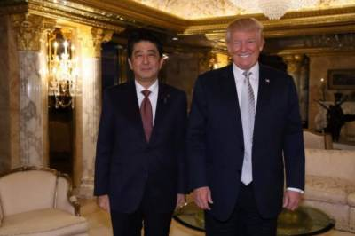 Donald Trump and Japan's Abe discuss escalating North Korea threat